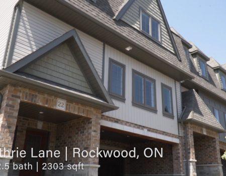 SOLD – 22 Guthrie, Rockwood, Ontario