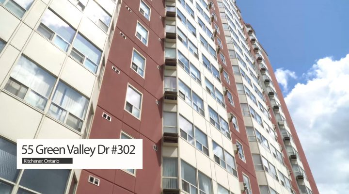 SOLD #302 – 55 Green Valley Drive, Kitchener